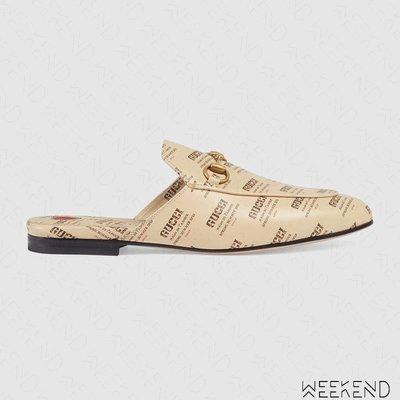 【WEEKEND】 GUCCI Princetown Gucci Invite 樂福鞋 拖鞋 穆勒鞋 505511