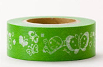 《散步生活雜貨-和紙膠帶系列》日本進口 Snih Masking Tape 紙膠帶 單捲(20mm) - snih-F