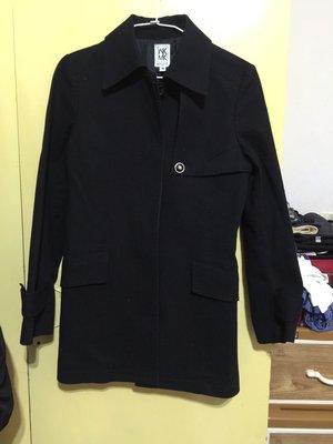 日本品牌MK女大衣 肩38 胸42長75   38號無腰帶 八成新