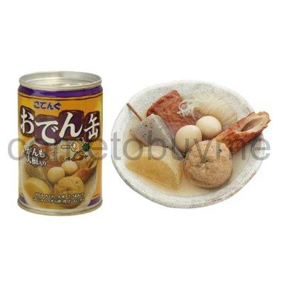 日本天狗 關東煮罐頭 關東煮 罐頭 罐頭食品 蒟蒻 白蘿蔔 鵪鶉蛋 竹輪