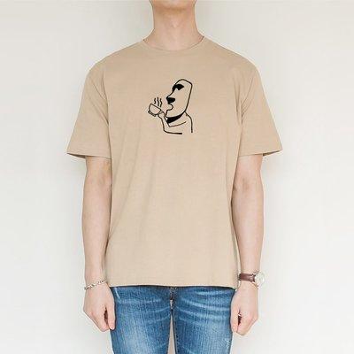 摩艾咖啡 Moai 短袖T恤 4色 coffee 秋冬 復活節島 石像 禮物