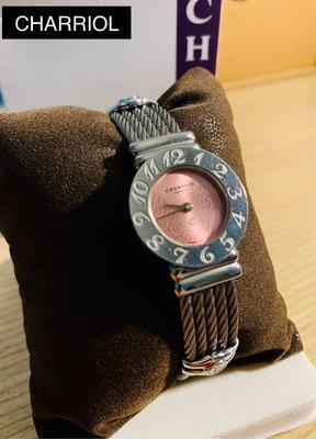 CHARRIOL夏利豪經典款手錶 附原廠紙盒 保卡 含運