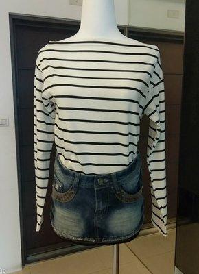 琳達購物中心-實品拍攝-顯瘦牛仔短裙S號-時尚百搭牛仔裙