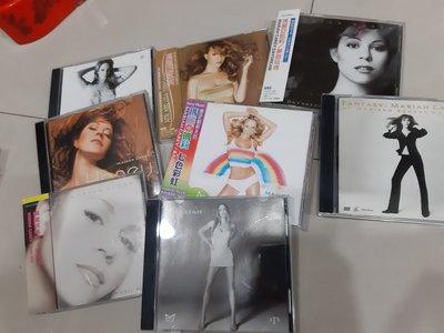 瑪莉亞凱莉Mariah Carey一共8張專輯低價出清 含側標