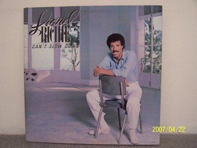 【流行LP】944.Lionel Richie:Can't slow down,Truly專輯,2LPs