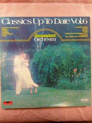 演奏/早期黑膠LP/James last/Classics Up To Date Vol.6 巴洛克代理 片況NM