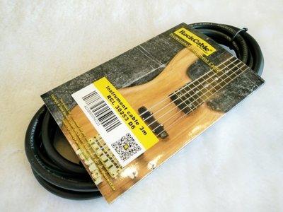 【老羊樂器店】德國 Warwick Rock Cable RCL3025310呎 電吉他 電貝斯 電木吉他 導線