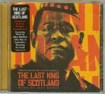 """""""最後的蘇格蘭王(Last King of Scotland)""""- Alex Heffes,全新美版"""