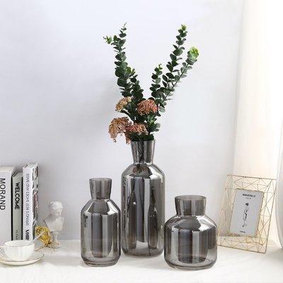 〖洋碼頭〗北歐創意玻璃花瓶客廳電視櫃插花花瓶裝飾品擺件現代水培花瓶擺件 bhm223