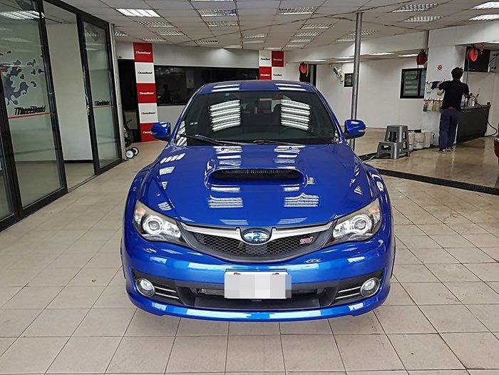 艾仕得Cromax 3050S 頂級奈米金油 全車烤漆 SUBARU STI 顏色:水晶藍