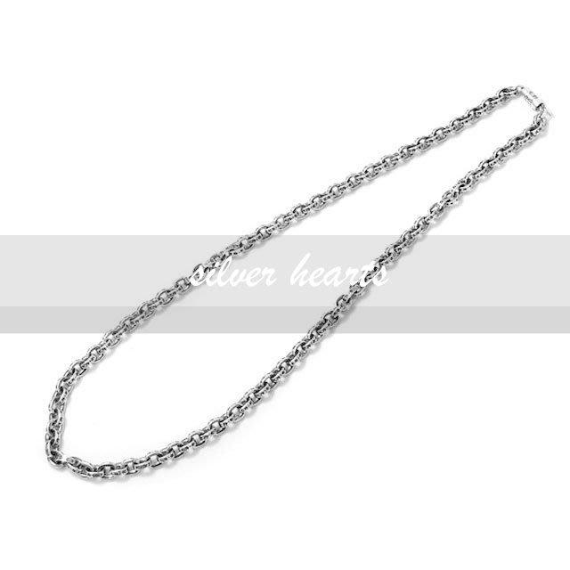 【SILVER HEARTS】Goro's Chrome Hearts克羅心Paper chain鎖鍊型50cm純銀項鍊