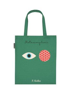 莉迪卡娜~美國Out of Print 卡夫卡愛倫坡帆布包 文學文藝復古創意設計包袋