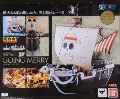 小麥   海賊王 黃金梅里號 梅麗號 超合金 萬代 再版現貨