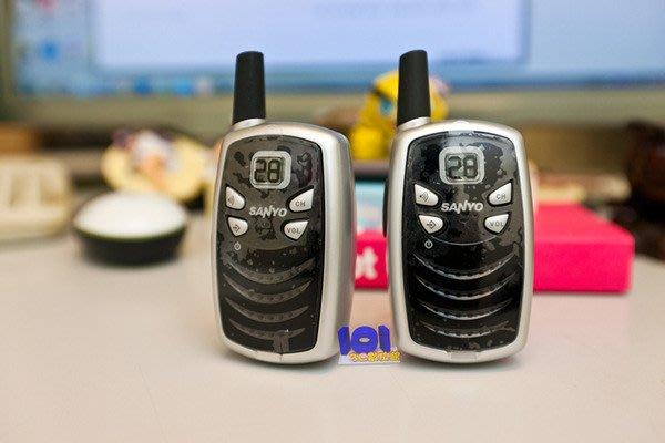 【101-3C數位館】《展示機》 三洋 SANYO CLT160 低功率無線電對講機 【黑色】