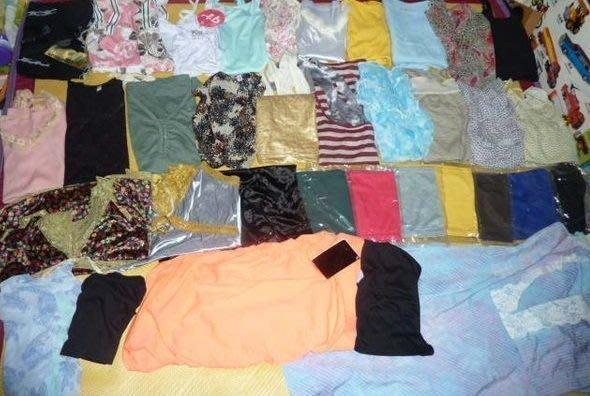全新流行女裝/衣服/衣物切貨包~上衣/裙子/上半身/下半身皆有~批發10元~每件皆不同款