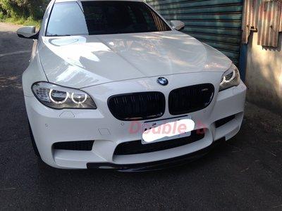Doable  b BMW F10 M5 RKP 抽真空 碳纖維 前下巴 台灣製造 高品質 密合度超優 正M5裝