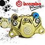 Brembo 34MM 鑄造 大螃蟹 金底銀字 對二卡鉗...