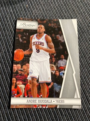 Andre Iguodala 10/11 Prestige #89 Base