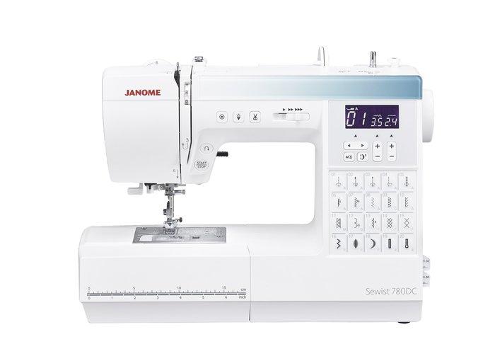 【優質服務品質保證】車樂美 JANOME 780DC 縫紉機 送輔助板 全新公司貨 可議價『請看關於我,來電享有勁爆價』