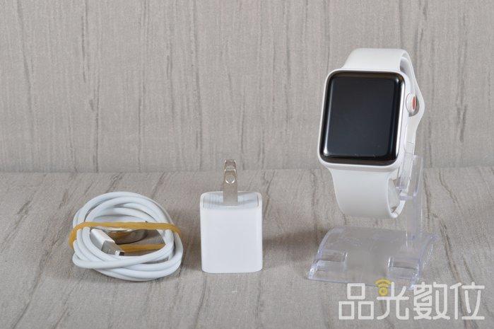 【品光數位】APPLE WATCH S3 42mm 陶瓷白 美版 #91533