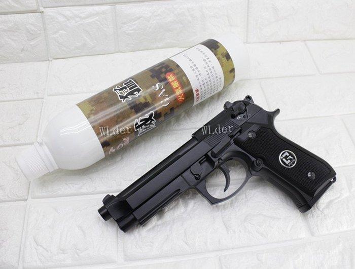 [01] iGUN 貝瑞塔 M9A1 瓦斯槍 連發版 MG + 12KG 威猛瓦斯 (BB槍BB彈M9A1 M92 M9