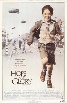 希望與榮耀 ( Hope and Glory ) - 美國原版電影海報 (1987年)