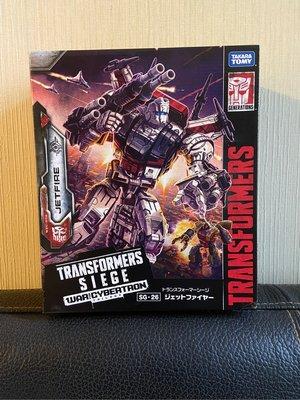 開封 變形金剛 Transformer 圍城 Siege 天火 Jetfire 外盒唔靚