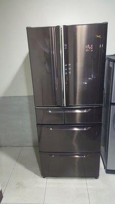 日立變頻6門冰箱下冷凍上冷藏18000保固六個月
