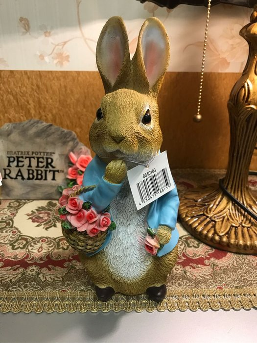 彼得兔花籃擺飾