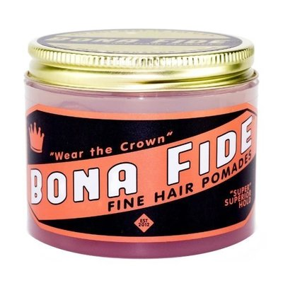 【桶貓家】Bona Fide Pomade 強力定型款 水洗式髮油(120.5g)