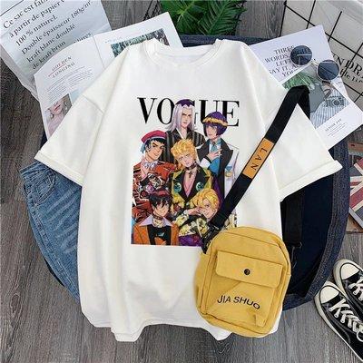 KK正韓女裝Anime JoJo Bizarre Adventure T-shirt 日本動漫奇異冒險男女T恤