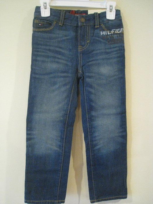 Tommy Hilfiger 男童牛仔褲 尺寸 5歲