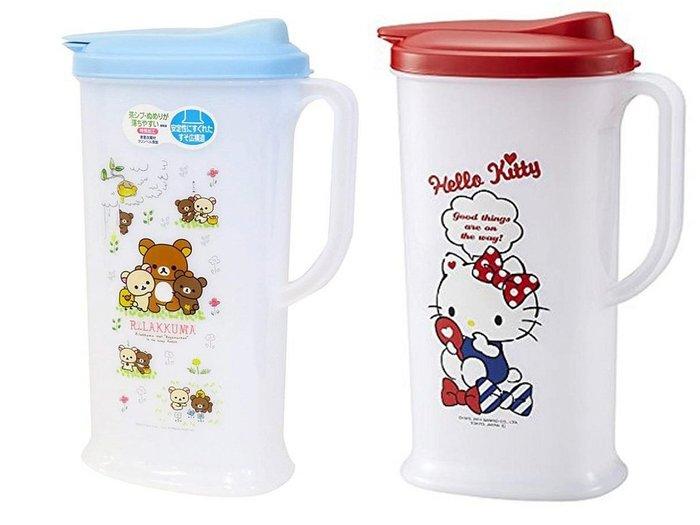 佳佳玩具 --- 日本進口 正版授權 Kitty 拉拉熊 塑膠 冷水壺 2L 日本製 【3742248】