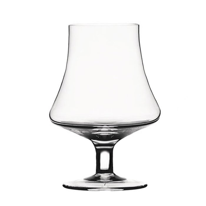 聚吉小屋 #收口白蘭地杯 水晶玻璃杯 歐式洋酒杯 品鑒聞香杯 郁金香杯矮腳