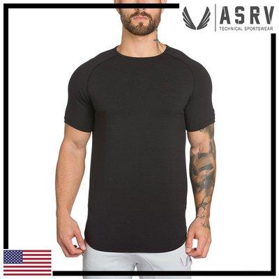 瘋狂金剛▸ 黑 ASRV Core Established Tee 吸濕排汗透氣輕盈短袖T恤 運動 健身