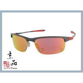 【OAKLEY】Carbon Blade OO9174 06 紅寶石水銀偏光鏡片 碳纖維框 法拉利款 JPG 京品眼鏡