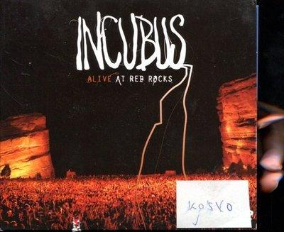 *真音樂* INCUBUS / ALIVE CD+DVD 二手 K0540 (下殼切痕) (清倉.下標賣3)
