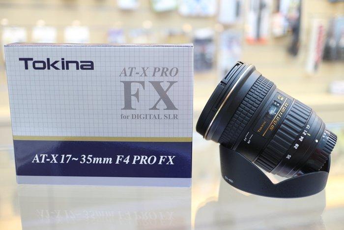 【日產旗艦】Tokina FX 17-35mm F4 PRO Canon Nikon 公司貨
