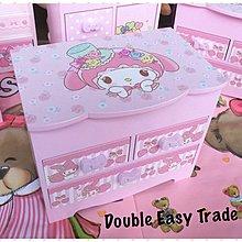 🌟Cute Cute 🌟木製Melody有鏡面雜物首飾化妝箱