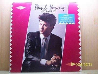 【流行LP名盤】1129.二張Paul Young:Between two fires專輯,2LPs