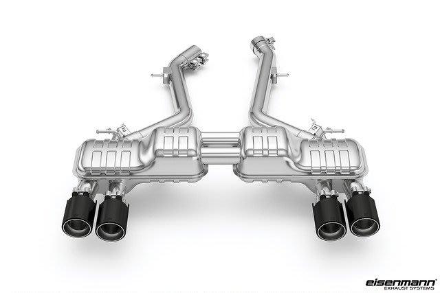 【樂駒】Eisenmann BMW F87 M2 Competition 中尾段 碳纖維 尾飾管 改裝 套件 直通