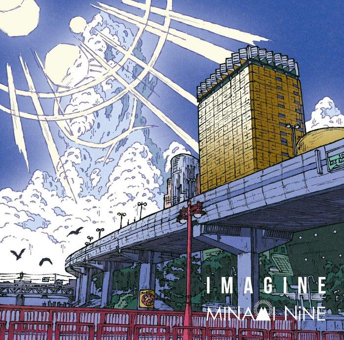 特價預購 MINAMI NiNE IMAGINE (日版通常盤CD) 最新2019 航空版