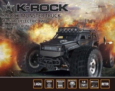 [Child's shop]  雷虎 Thunder Tiger K-ROCK 大腳 附發聲器 黑