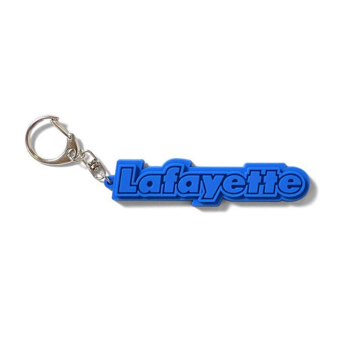 { POISON } LAFAYETTE LOGO RUBBER KEY CHAIN 經典橡膠鑰匙圈