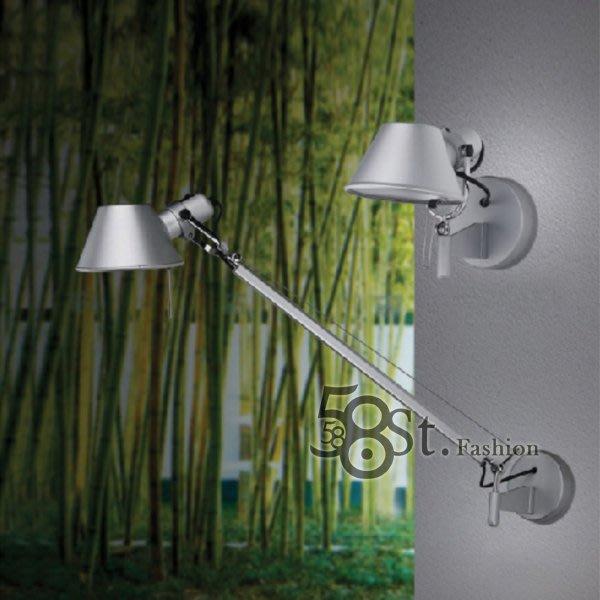 【58街】義大利設計師款式「稻草人單臂壁燈,戴草帽的小女孩」。複刻版。GK-216