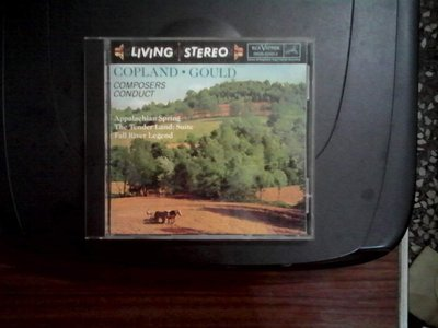 LIVING STEREO -COPLAND.GOULD  COMPOSERS CONDUCT