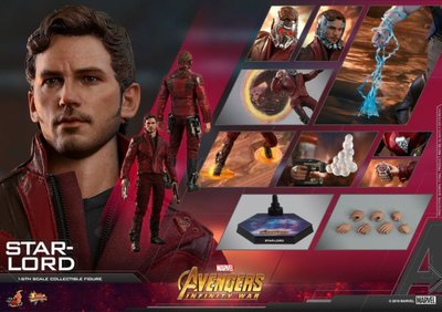 【Star Lord 星爵】3.0 StarLord Avengers Hottoys Marvel 復仇者 Hot toys 1/6 Infinity War