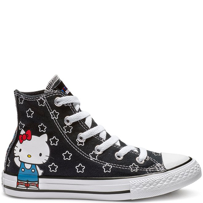 T☆【CONVERSE館】☆【CONVERSE X Hello Kitty聯名款帆布鞋】☆【CO163919F】11/4到貨
