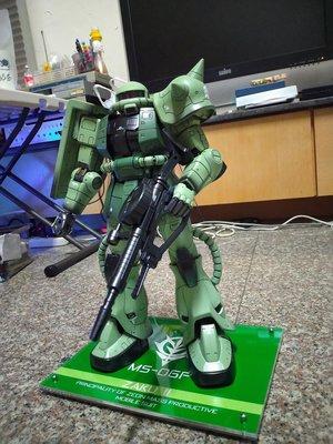 MEGA Size 1/48 ZAKU綠色薩克鋼彈模型GUNDAM組裝塗裝完成版無盒
