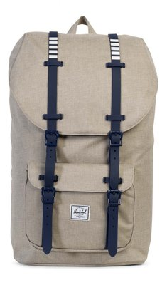 Herschel Supply Co. LITTLE AMERICA BACKPACK POLY/RUBBER LIGHT KHAKI